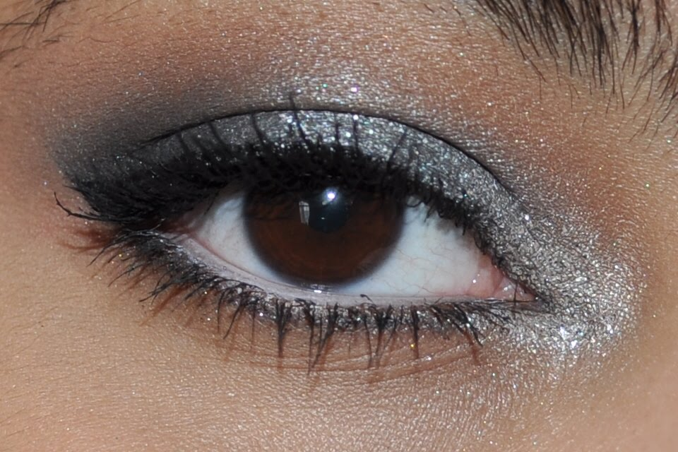 Gallery For gt Prom Makeup Silver Smokey Eye